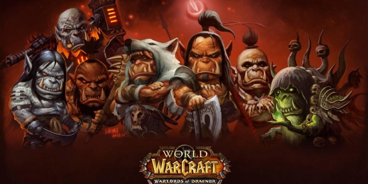 WoW llegó a 10 millones de suscriptores con Warlords of Draenor
