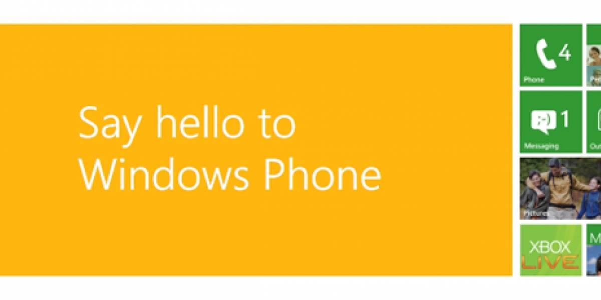 España: Windows Phone 7 llega en octubre con Movistar y Vodafone