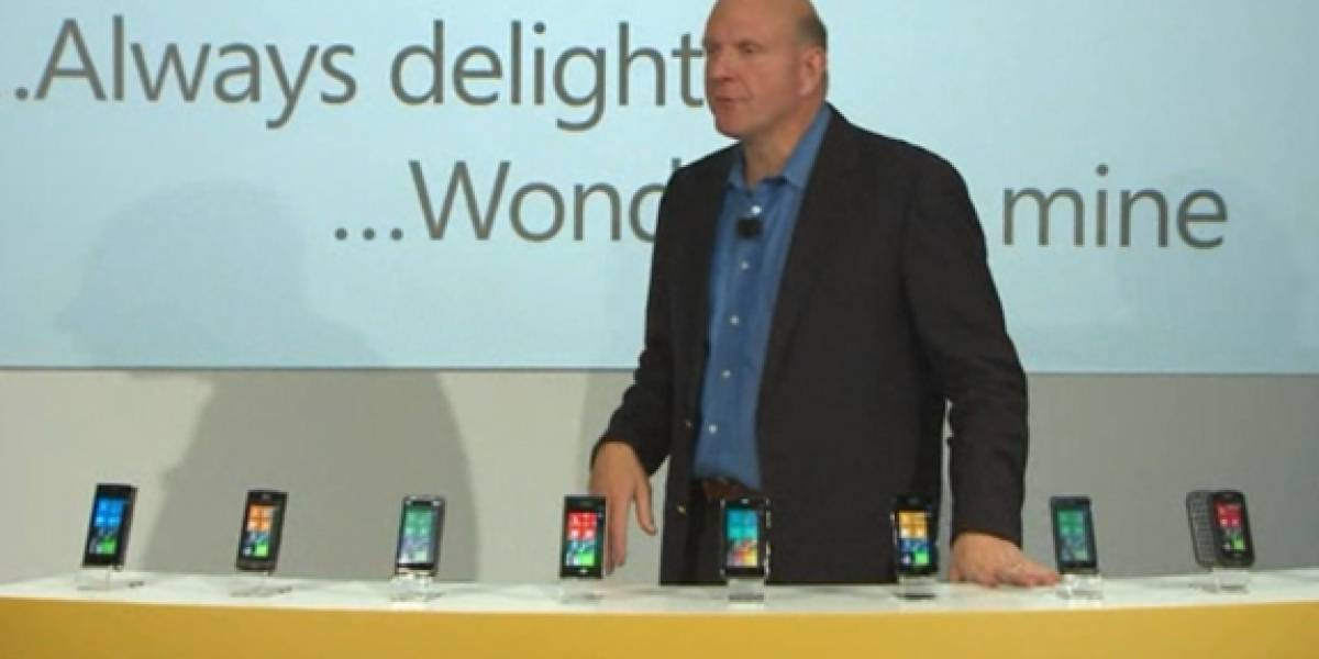 Microsoft lanza Windows Phone 7, sigue nuestra cobertura en vivo