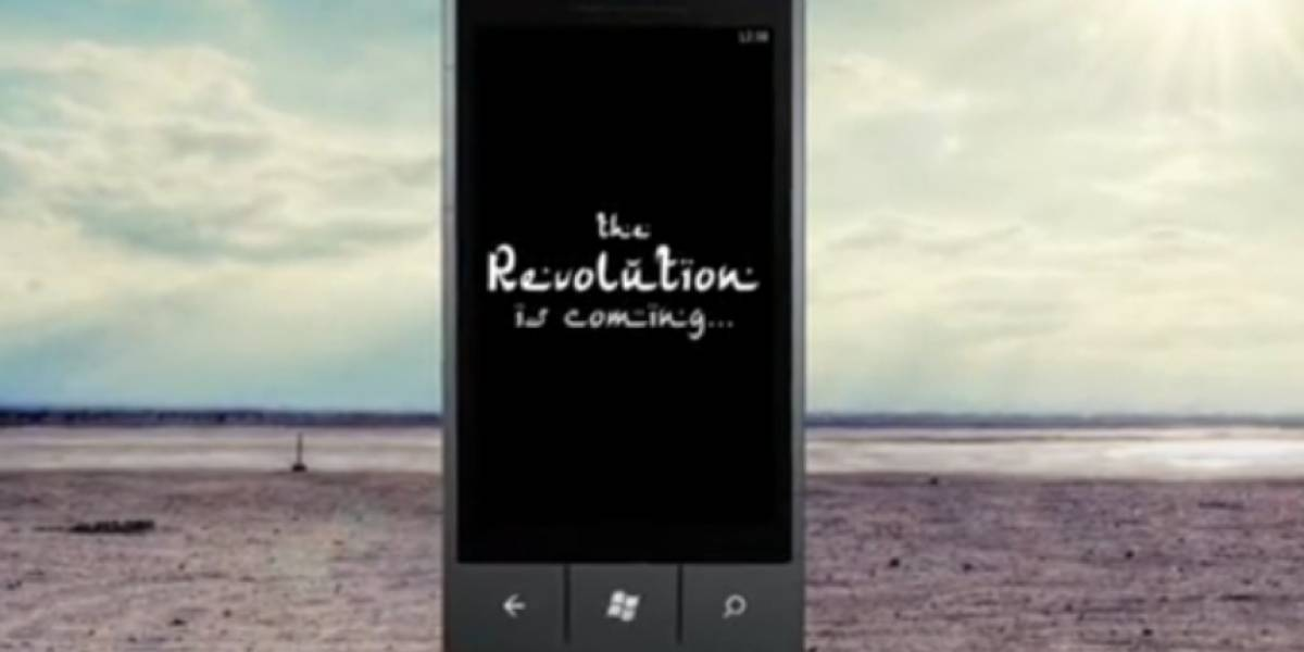 Aparece el primer comercial de Windows Phone 7
