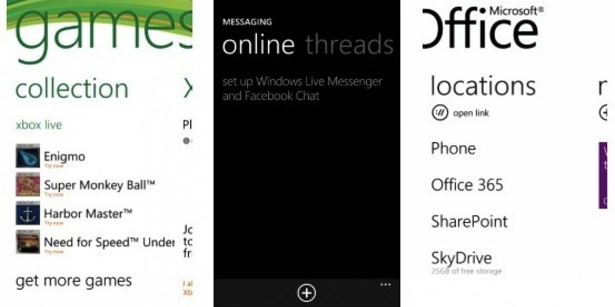 WP7 Mango tendría integración con chat de Facebook, Office 365 y Xbox Live