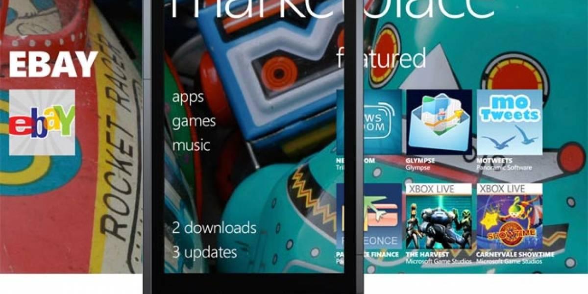 Tienda de Windows Phone 7 tiene ya más de 5.000 aplicaciones
