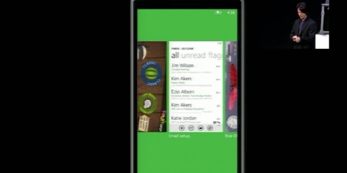 MWC2011: Video del multitasking de WP7 en acción