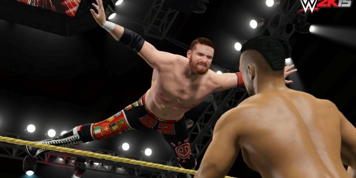 WWE 2K15 ya está disponible en PC