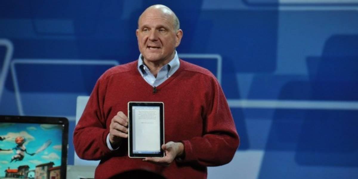 OS de Microsoft para tablets hasta finales de 2012