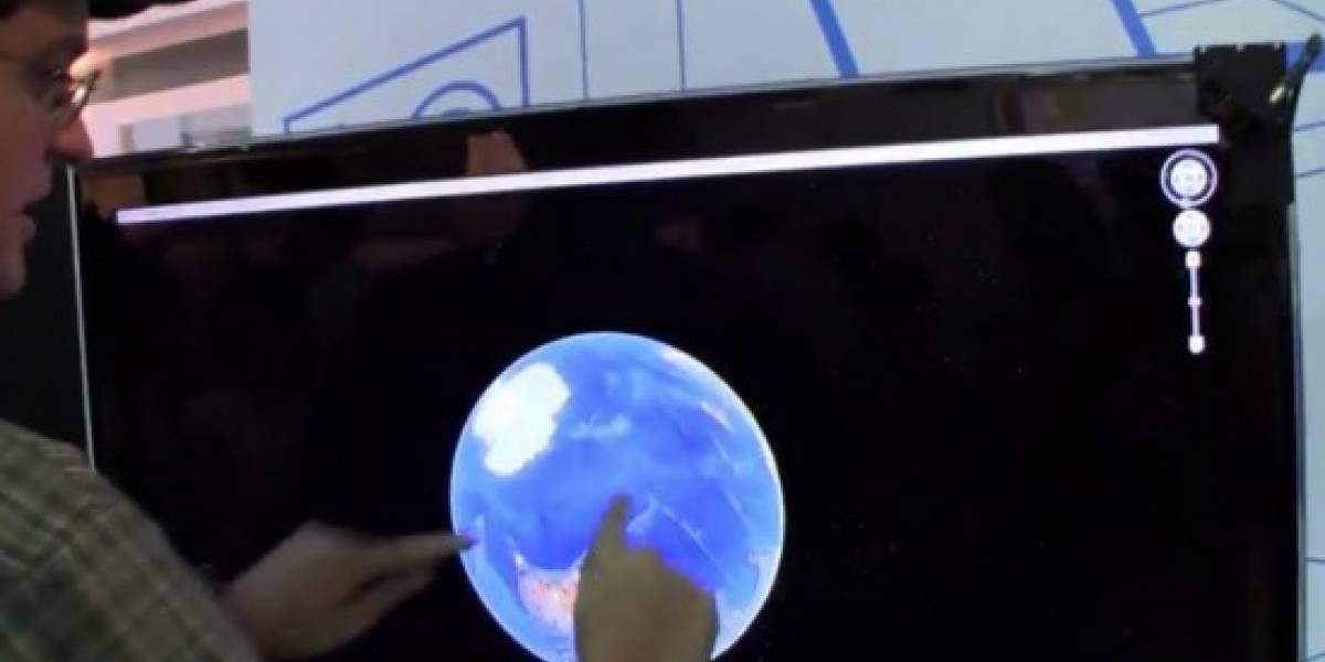 Convierta su pantalla de 50 pulgadas en touchscreen sin vender el hígado
