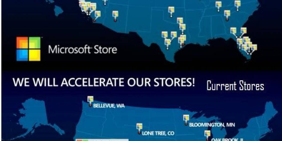Microsoft abrirá 75 nuevas tiendas de la marca