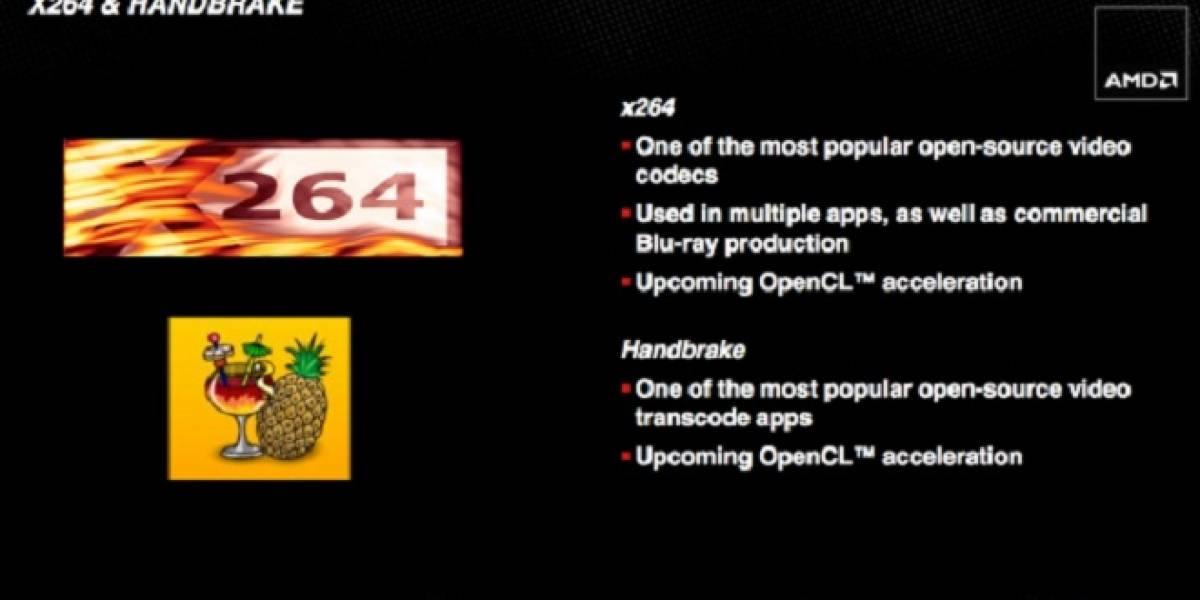 HandBrake y X264 muy pronto con aceleración por GPU (OpenCL)