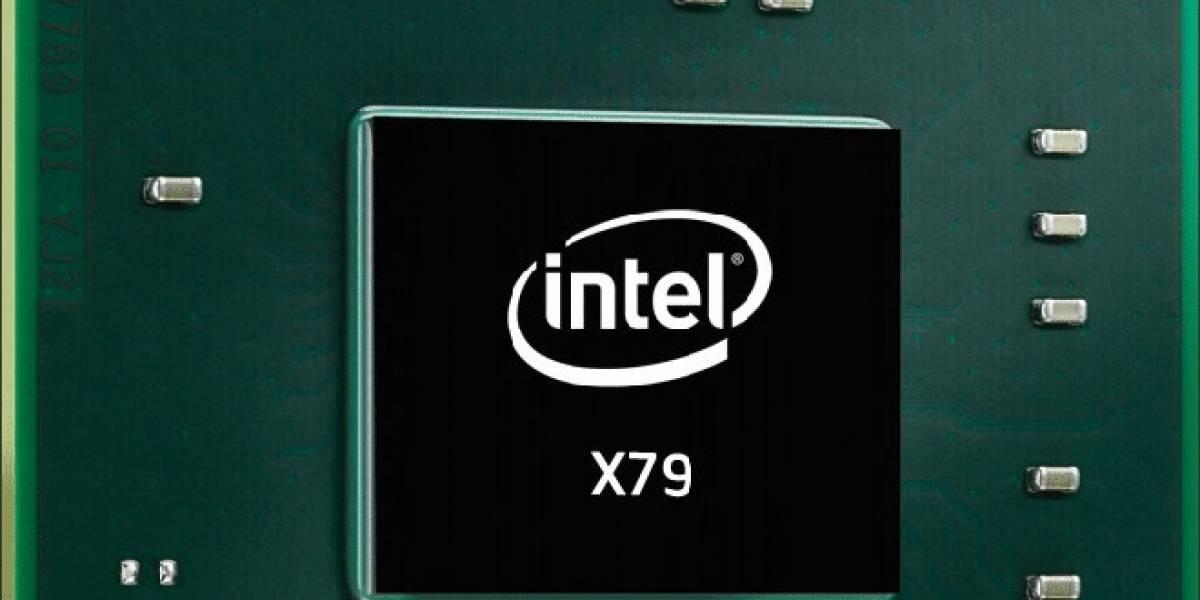 Intel empezó a distribuir tarjetas madre basadas el chipset X79 stepping C1