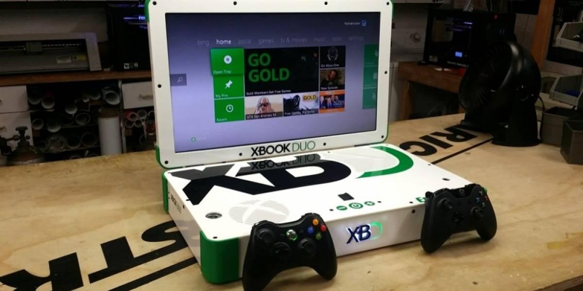 Xbook Duo: La Laptop que une un Xbox 360 con Xbox One