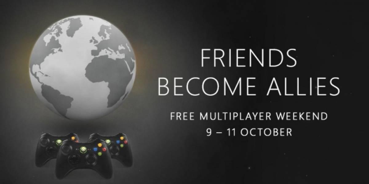 Xbox 360 tendrá multijugador online gratis durante el fin de semana