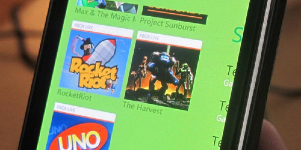 Estos son los juegos de Xbox Live que funcionarán en Windows Phone 7