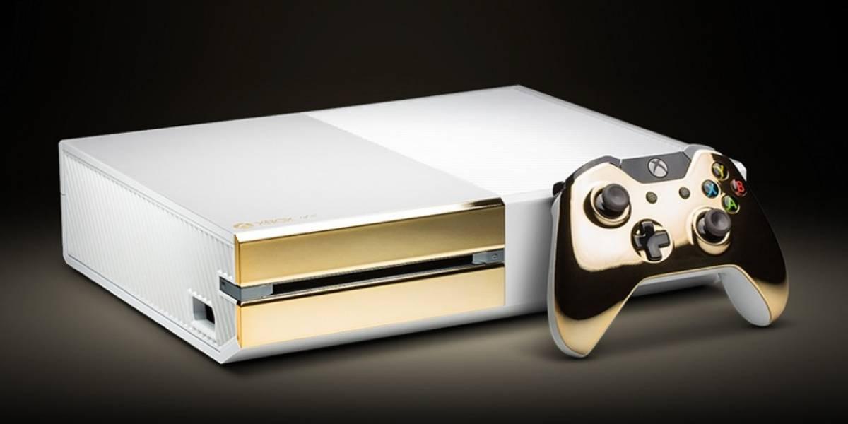 Crean Xbox One de 24 quilates