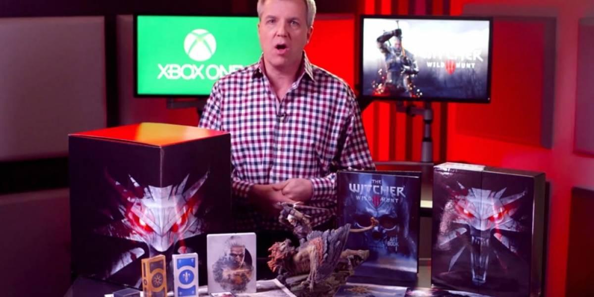 Unboxing de la edición de colección de The Witcher 3: Wild Hunt