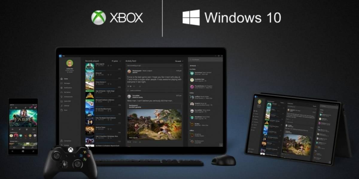 No necesitarás Xbox Live Gold para jugar en línea en Windows 10