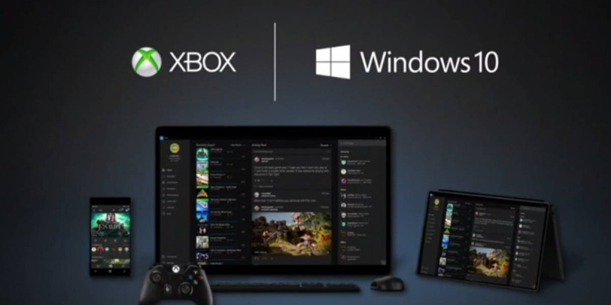 Anunciada la Xbox App para Windows 10