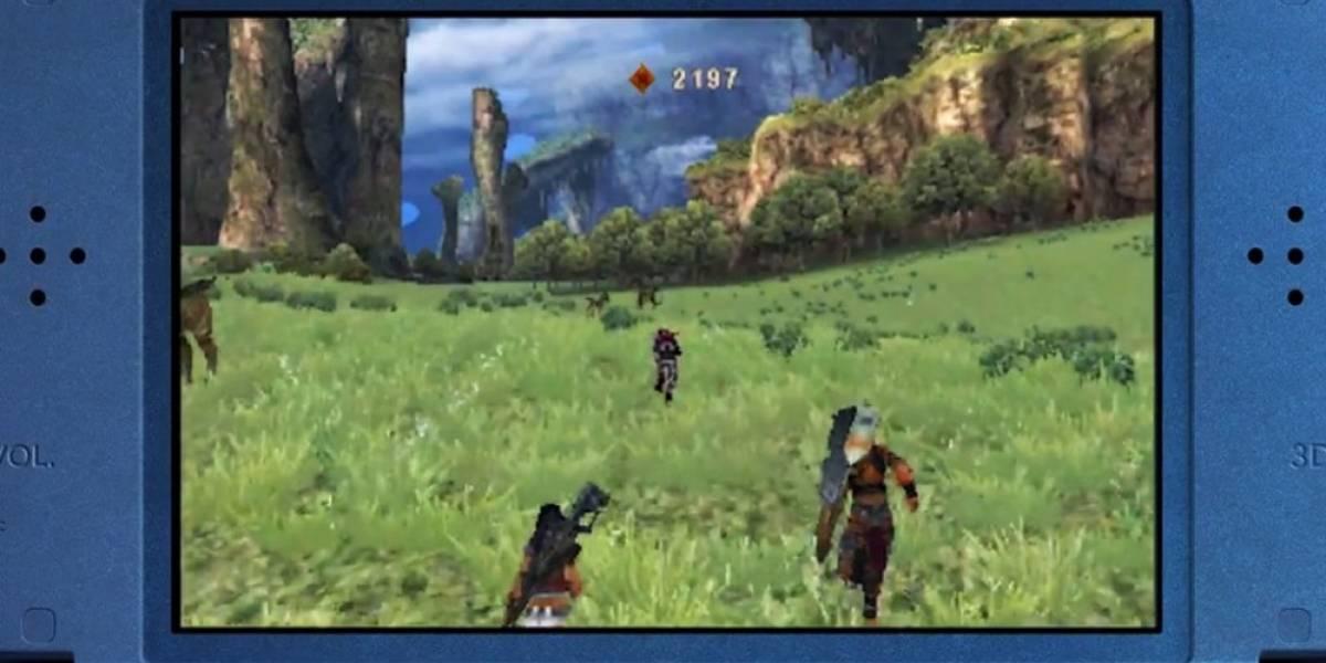 Xenoblade Chronicles se hace portátil y llega a la New 3DS