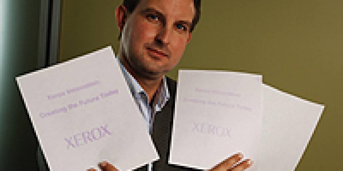 Xerox crea papel que se borra a si mismo