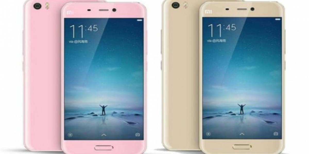 Tienda en línea filtra especificaciones y precio del Xiaomi Mi 5