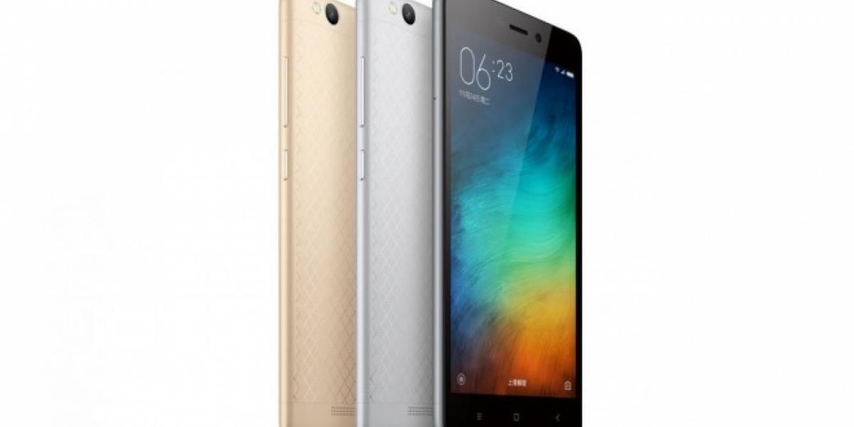 Xiaomi Redmi 3 es un gama media con precio atractivo