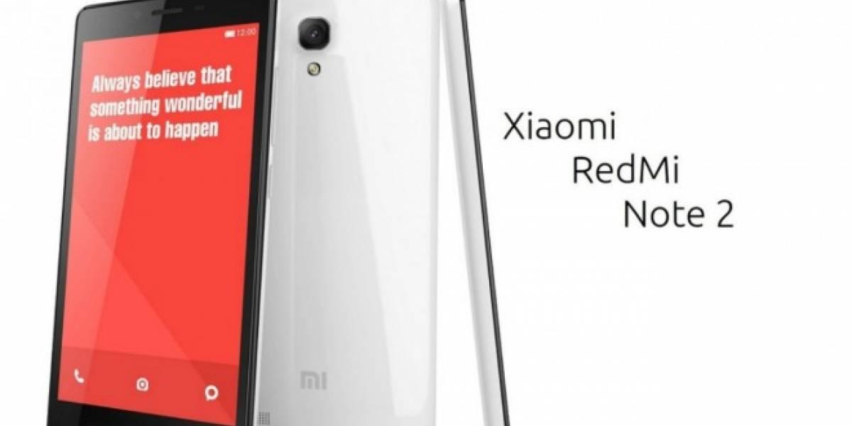 Xiaomi planea vender 10 millones de RedMi Note 2 este año