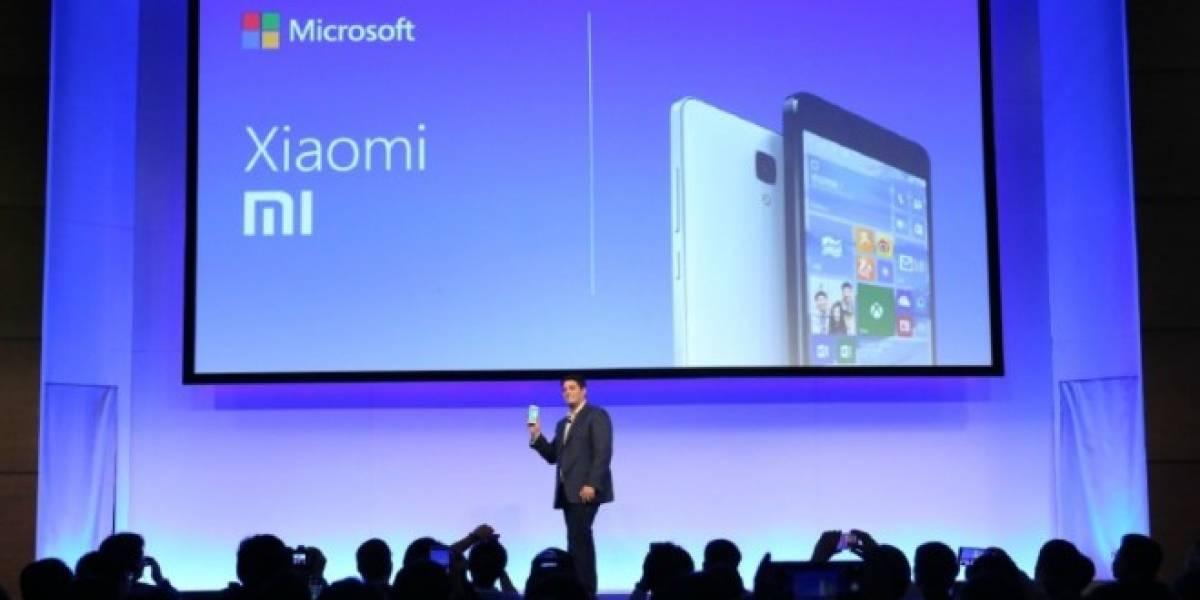 Aparecen imágenes de un Xiaomi MI4 corriendo Windows 10