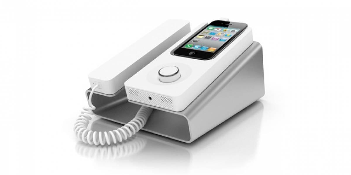Desk Dock de KEE: La forma más ondera de hablar por iPhone como teléfono... fijo
