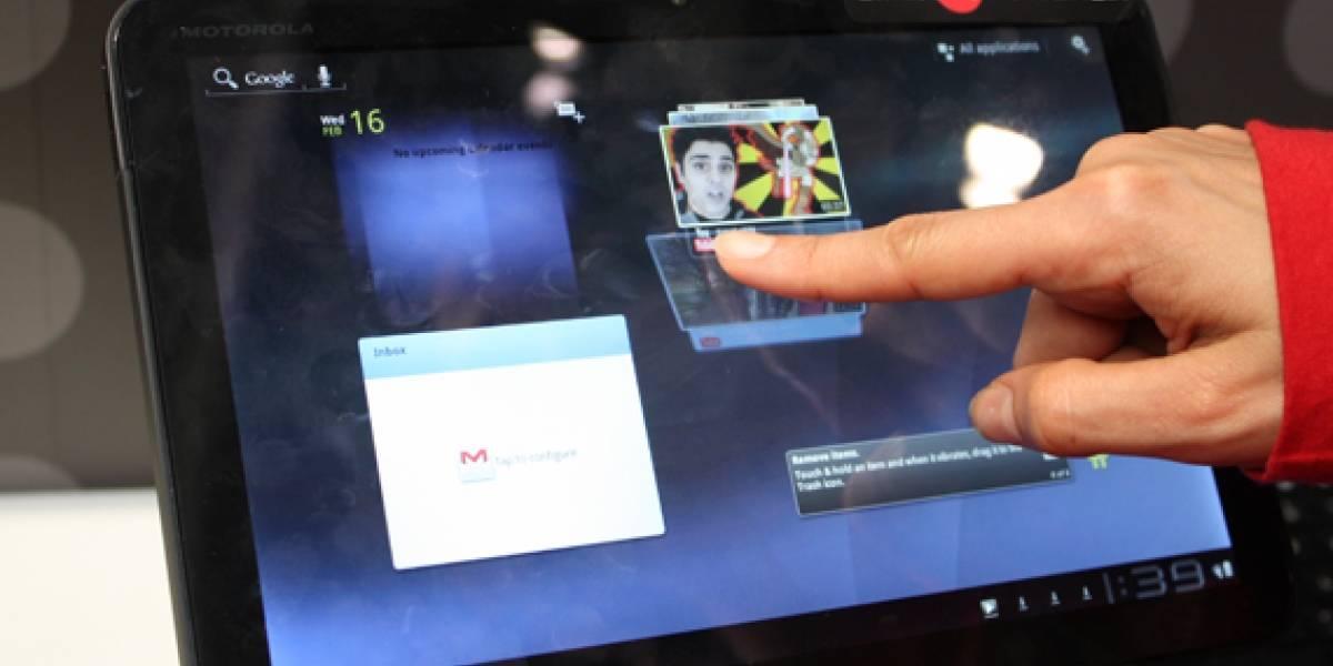 MWC2011: Motorola Xoom a primera vista [Actualizado con video]
