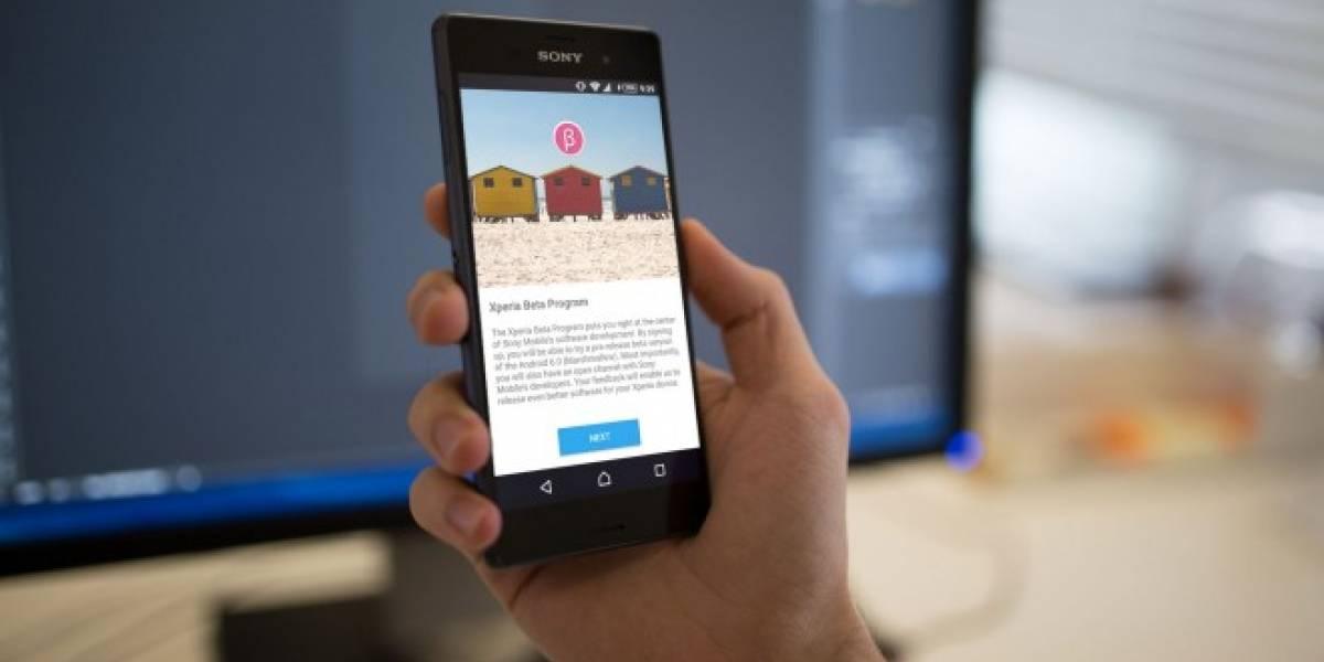 Sony lanza beta de Android 6.0 Marshmallow en España y otros países