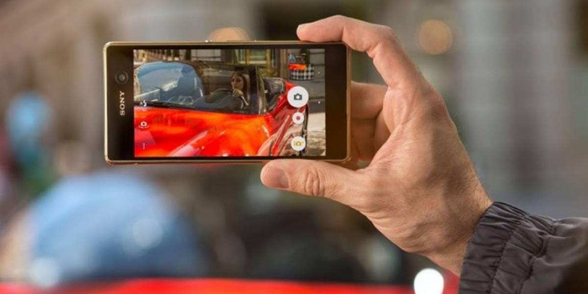 La cámara del Xperia M5 tiene enfoque ultra-rápido