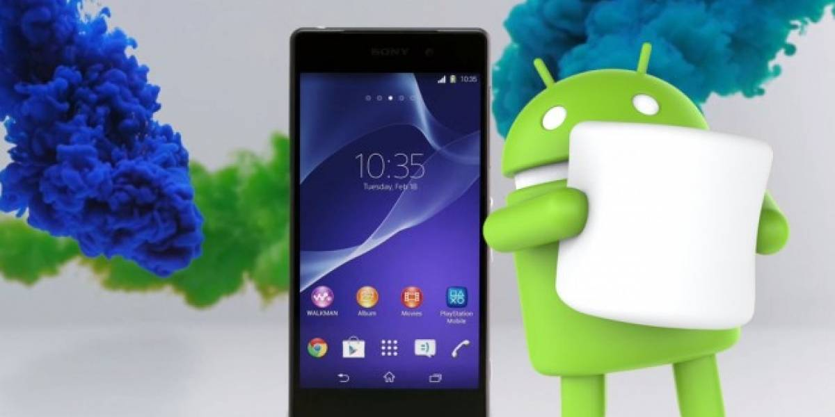 Sony libera Android 6.0.1 Marshmallow para Xperia Z2, Z3 y Z3 Compact