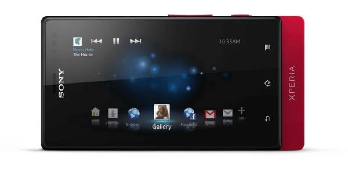 Sony presenta un nuevo smartphone de la serie NXT, el Xperia sola