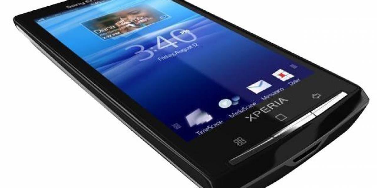 Videos oficiales del Xperia X10 corriendo Android 2.1