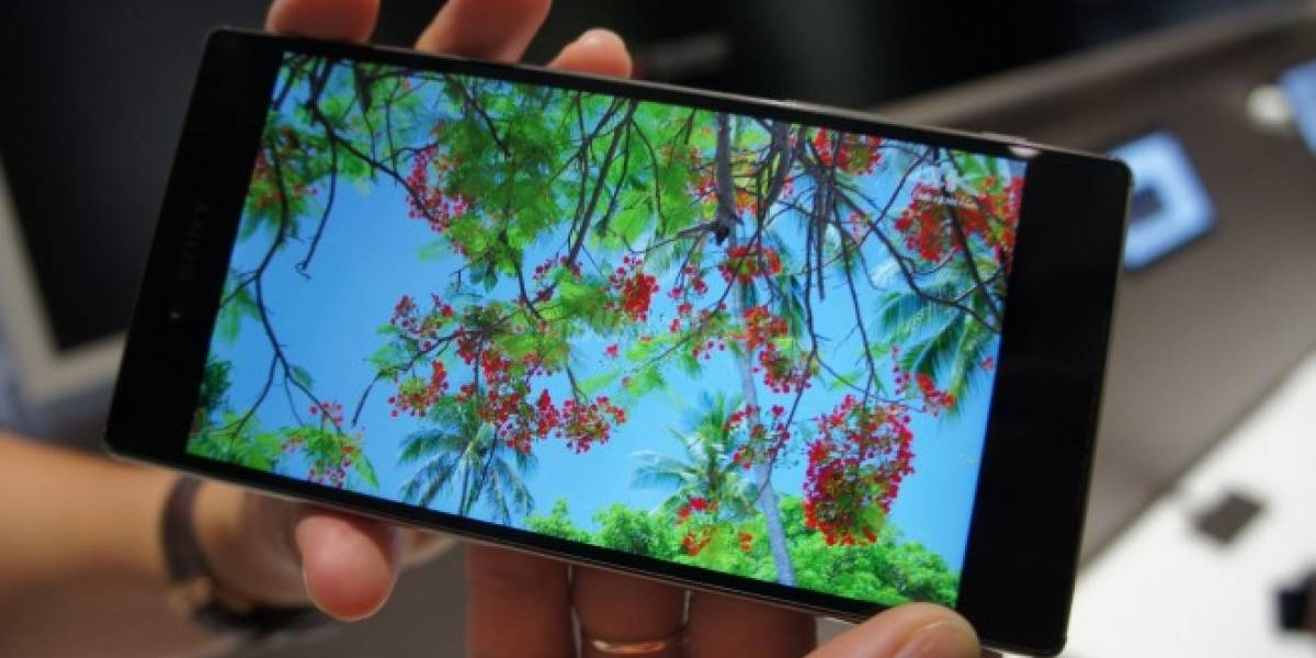 Sony Xperia Z5 Premium corre Android en Full HD, pero re-escalado a 4K
