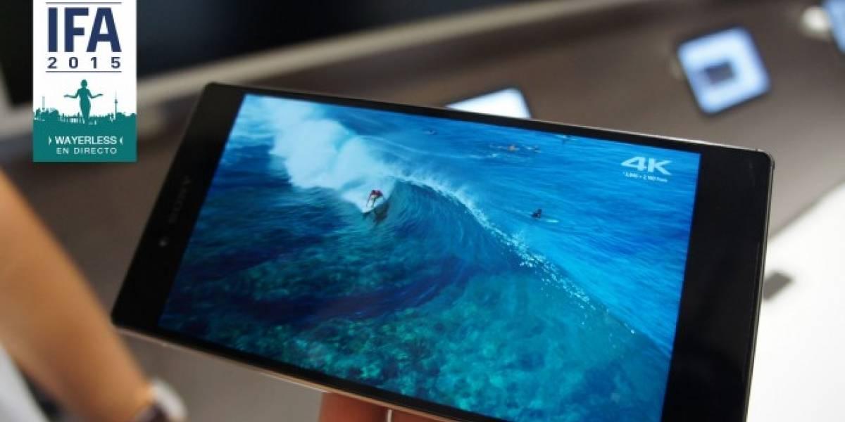 Xperia Z5 Premium y su pantalla 4K A Primera Vista #IFA15