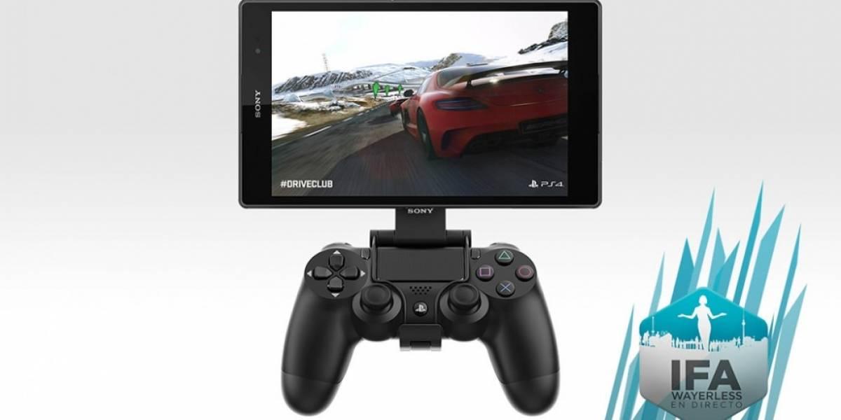 Podrás jugar de manera remota en PS4 con teléfonos y tablets Sony Xperia Z3