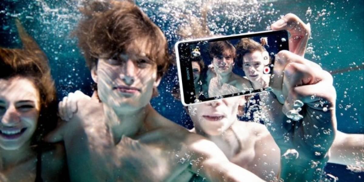 Sony ahora recomienda no usar sus equipos Xperia bajo el agua