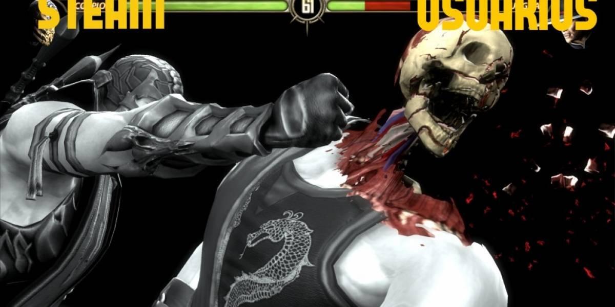 Lanzamiento de Mortal Kombat X en Steam es un desastre