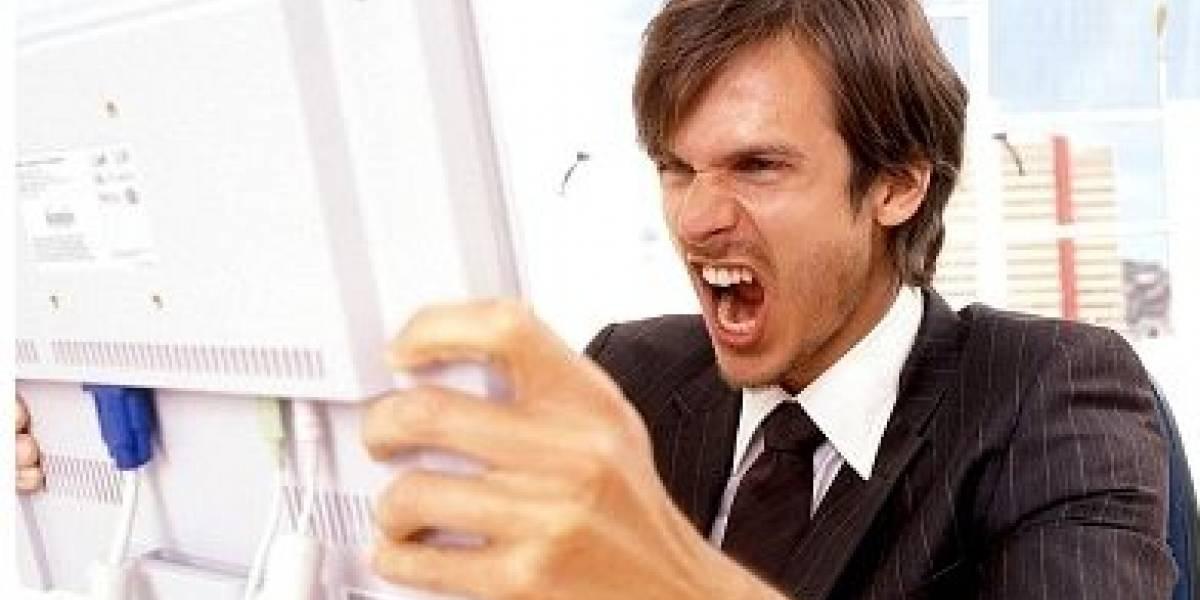 Alarmante: sólo el 39% de la gente le grita al PC