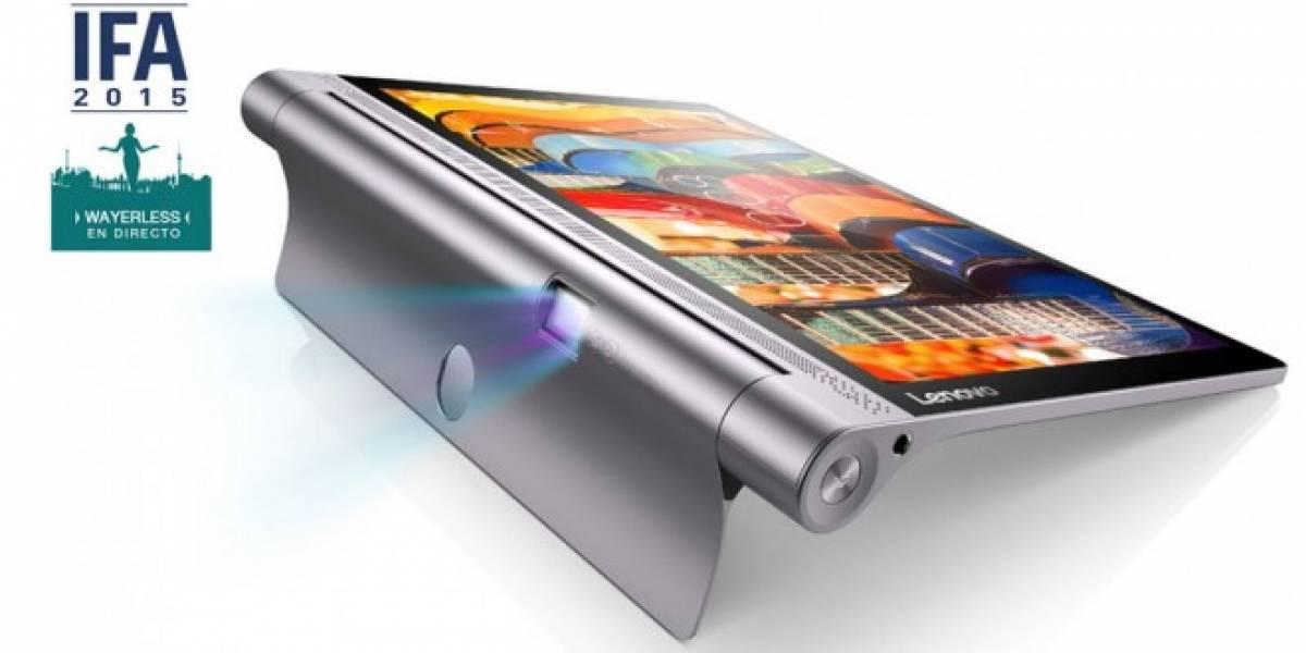 Lenovo lanza sus tablets Yoga Tab 3 y Yoga Tab 3 Pro #IFA15