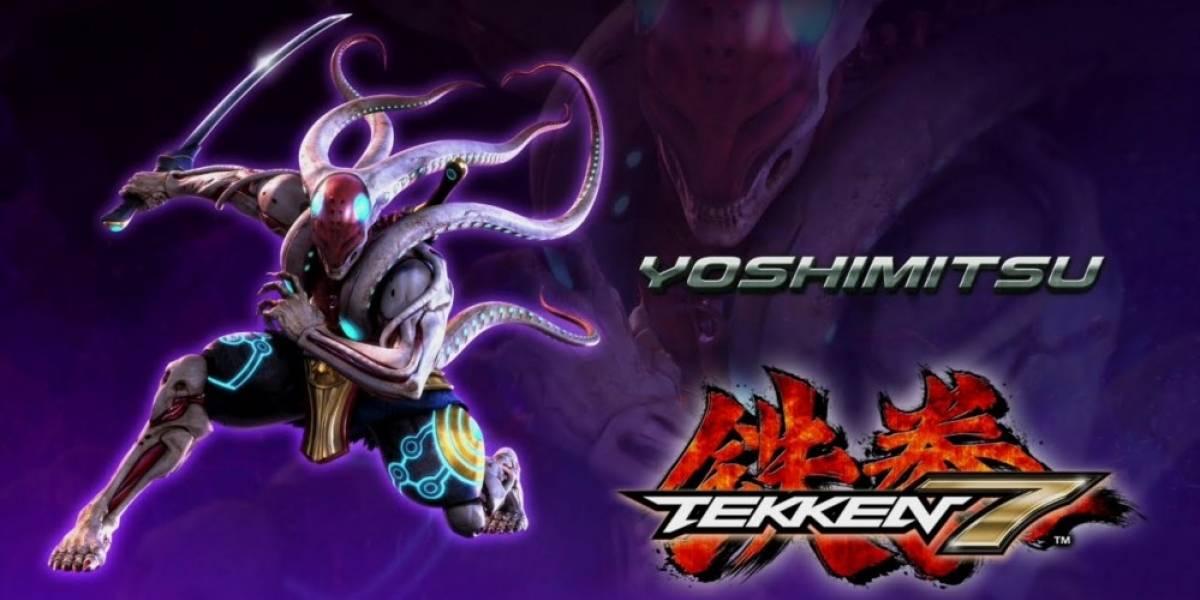 Yoshimitsu se integra a Tekken 7 y ahora tiene tentáculos