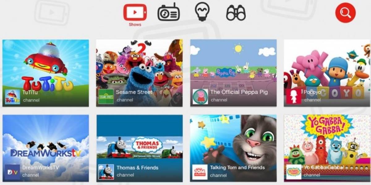 YouTube podría ser investigada por mostrar publicidad en su aplicación para niños