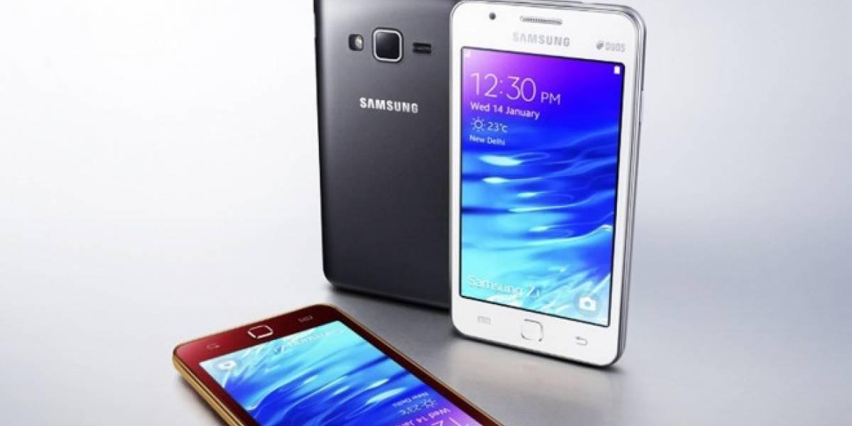 Facebook Messenger e Instagram llegan al Samsung Z1