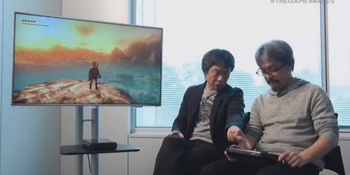 Miyamoto y Aonuma muestran una pizca del nuevo Zelda #TheGameAwards