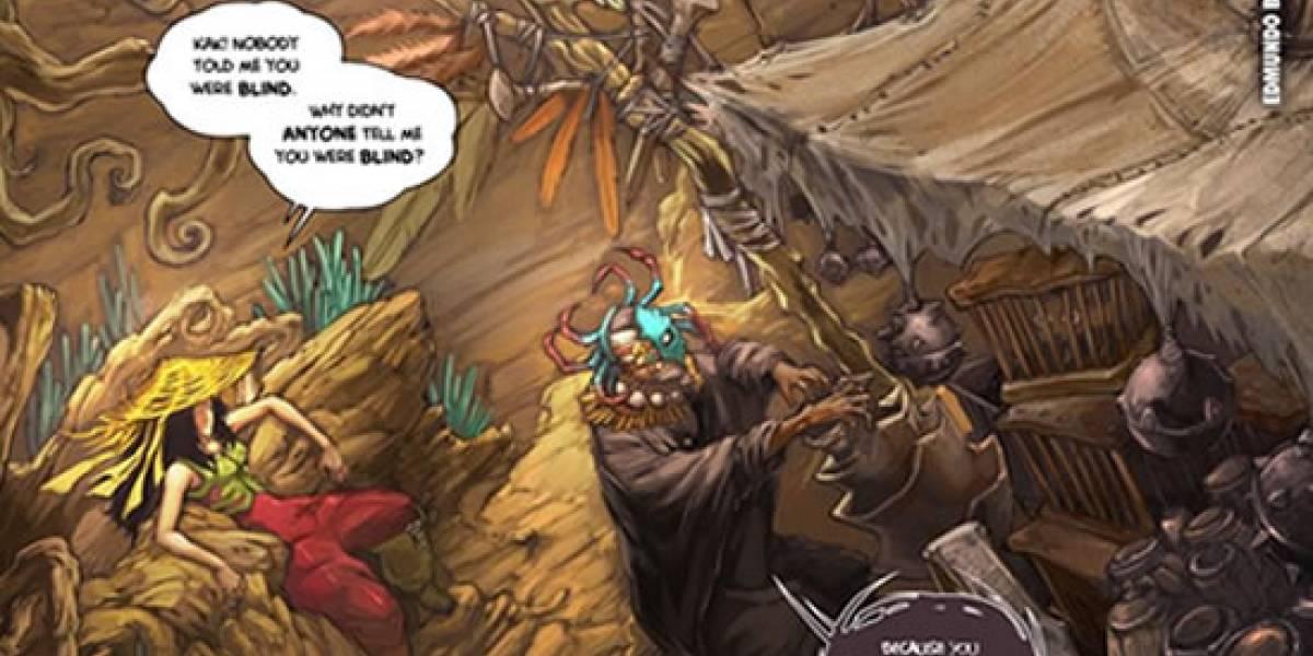 Zeno Clash ya tiene webcomic