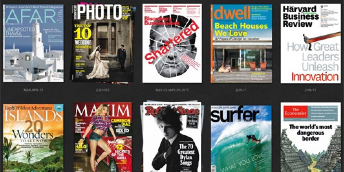 Zinio lanza 24 revistas al Android Market