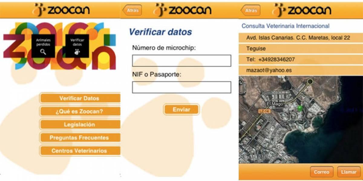 España: Lleva los datos de identificación de tu mascota en tu móvil