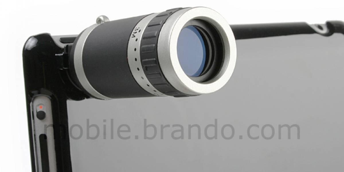Aparece telescopio para anclar a la cámara iPad