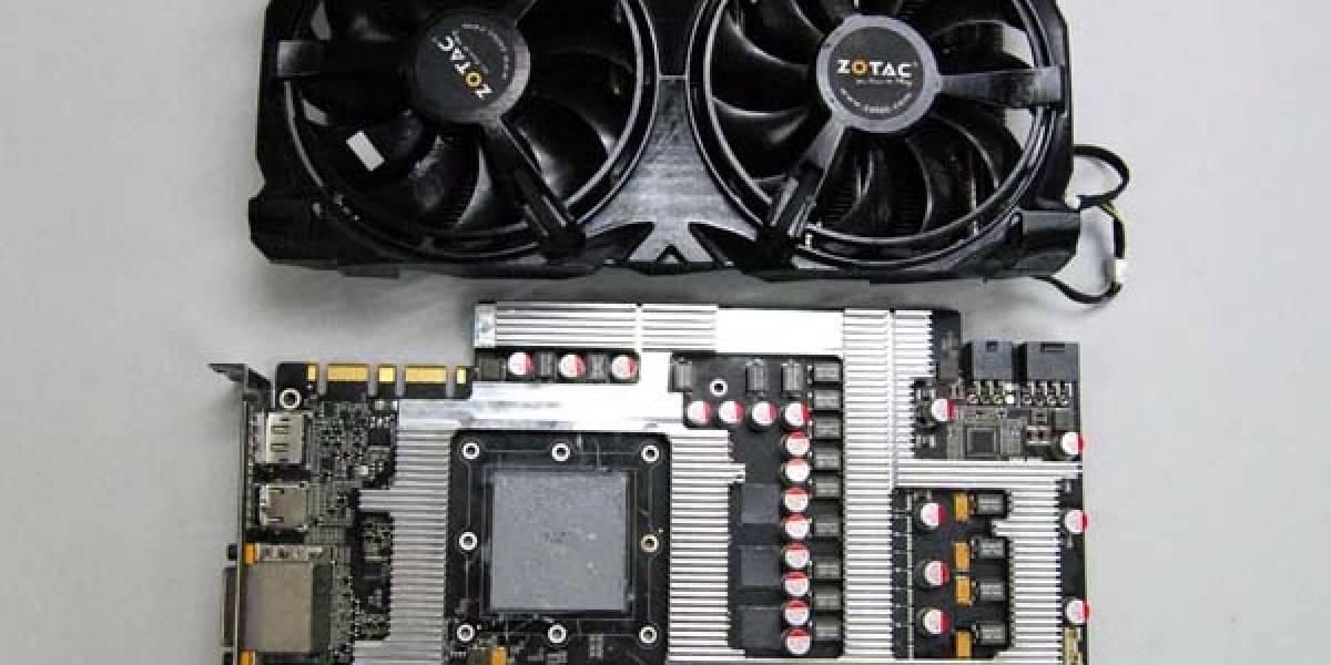 Zotac GTX 580 Extreme Edition: VGA con 16 fases de energía