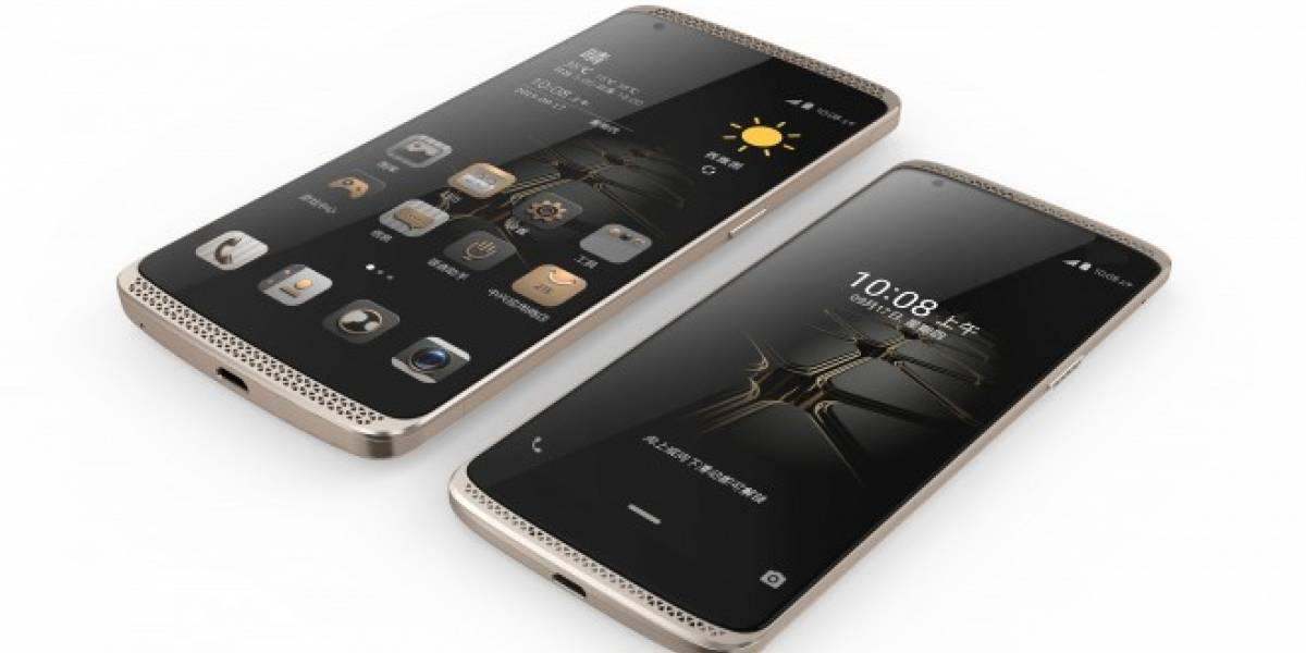 ZTE lanza su AXON mini con pantalla Force Touch